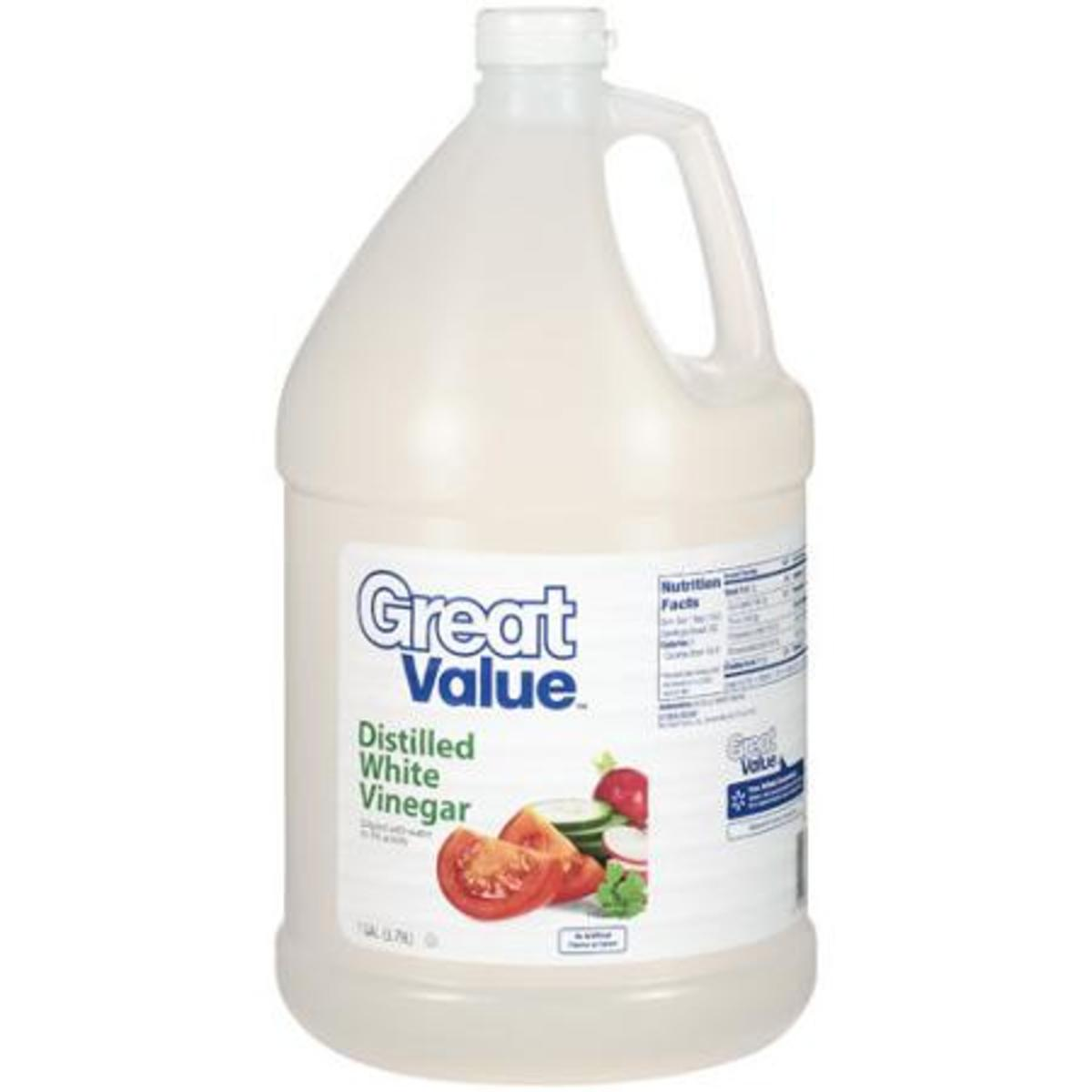 White vinegar is great upkeep for removing calcium deposits.