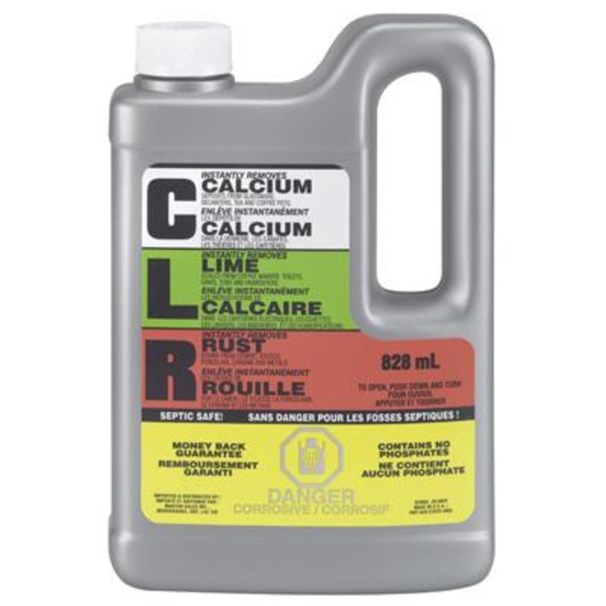 For tough cases of soap scum and lime buildup, CLR is the best option.
