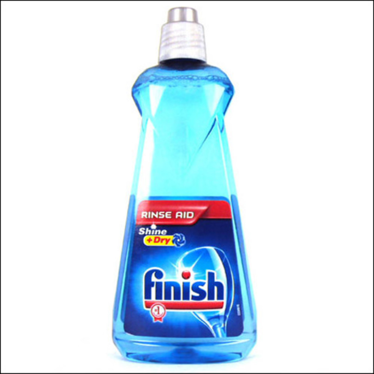A rinse aid can solve many problems with spotty and cloudy dishes.