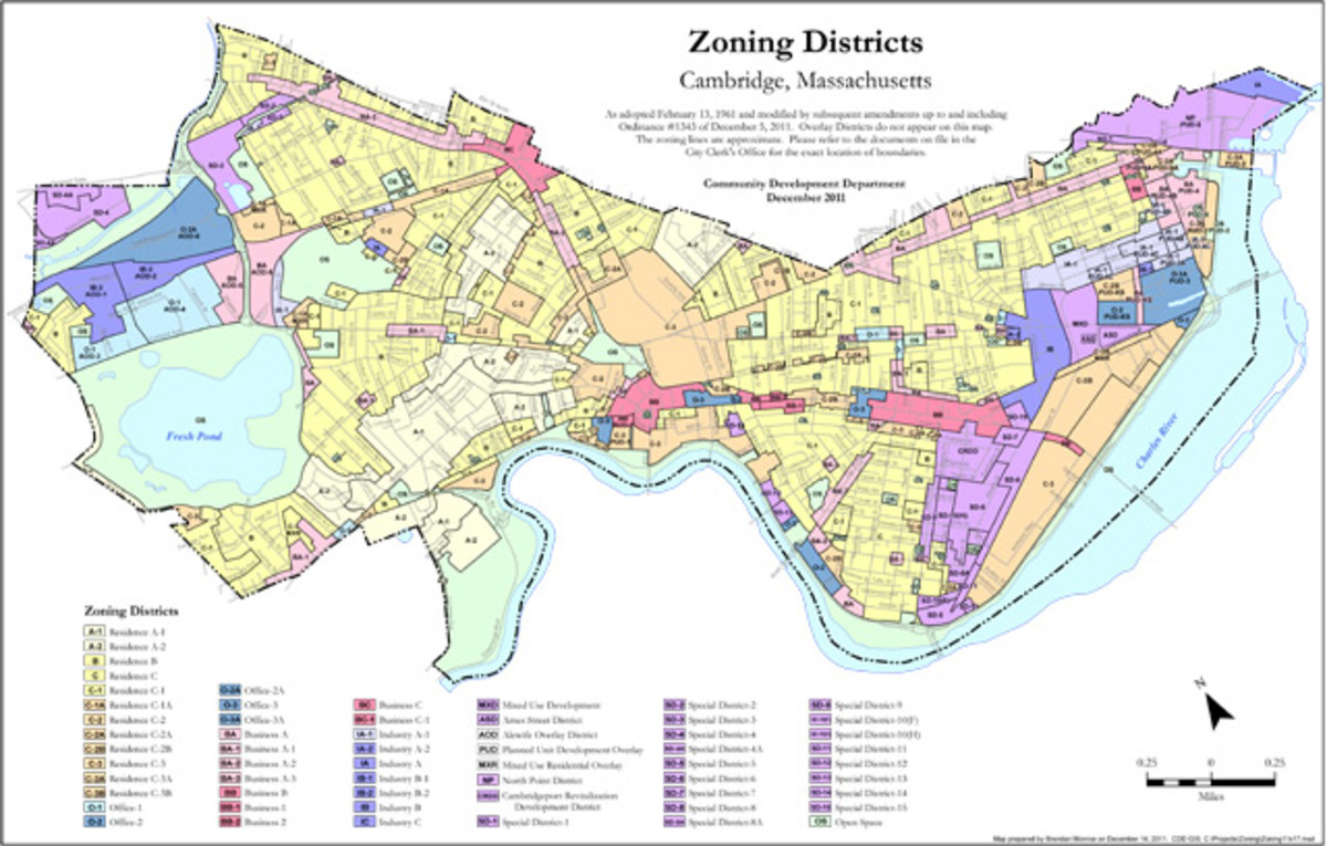 An example of city zoning.