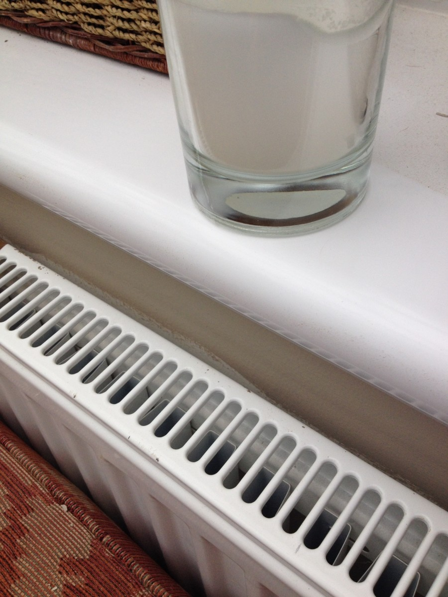 How To Paint Behind A Radiator Into Tight Gaps Or Behind