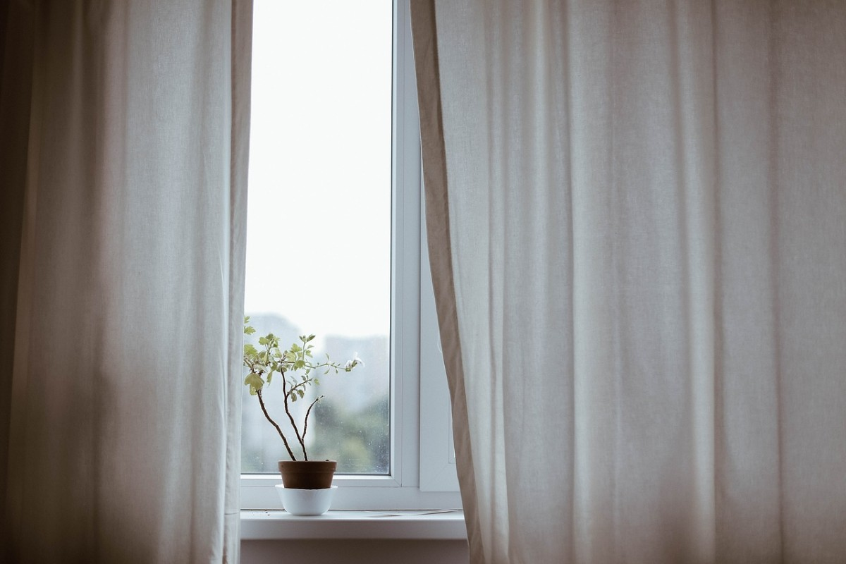 Sheer window curtains let you see out, but no one can see in