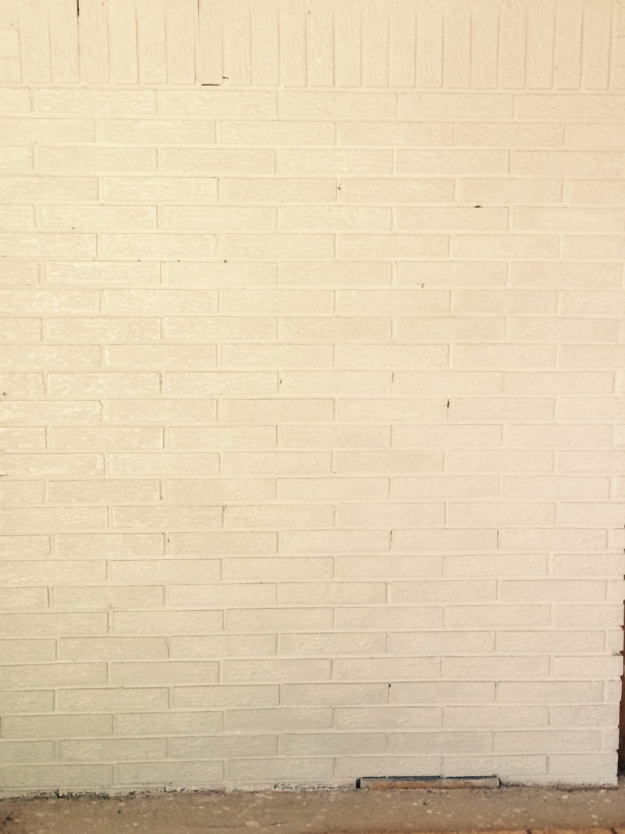 Wall after base coat application