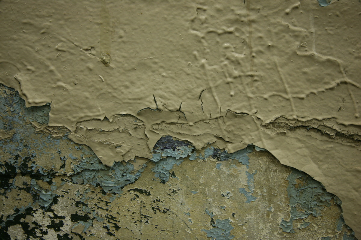 A Surface with Peeling Paint