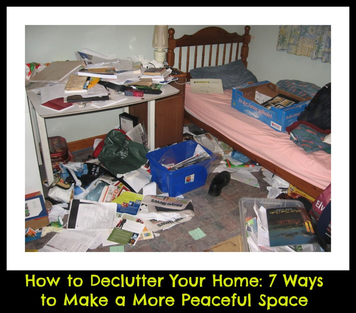 7 Ways to Declutter Your Home and Make a More Peaceful Space