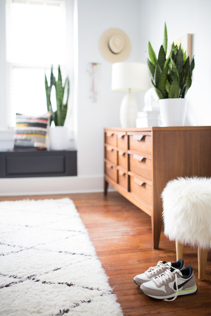 Plants add visual interest and depth while keeping a room fresh and inviting.