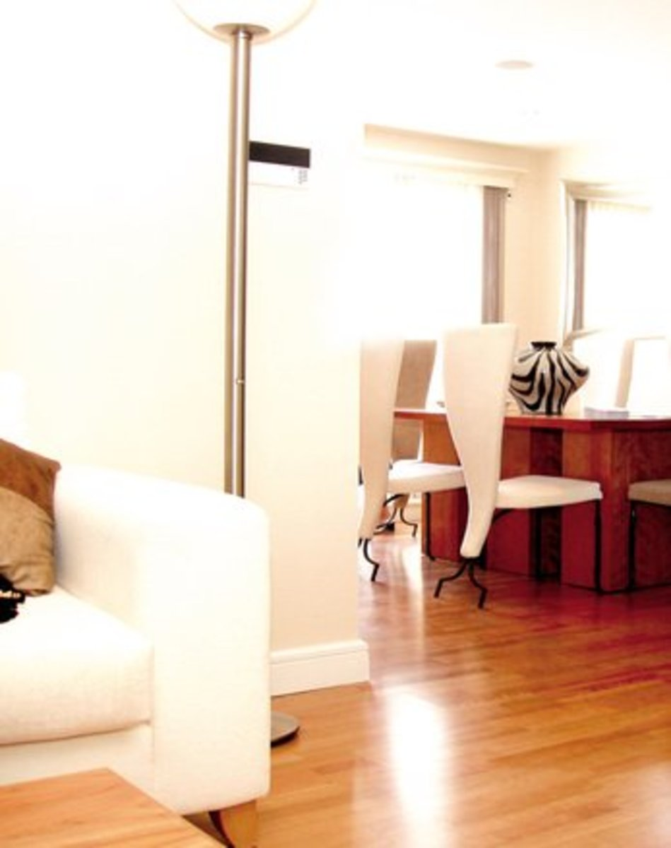 A clean apartment will improve your mood and attitude.