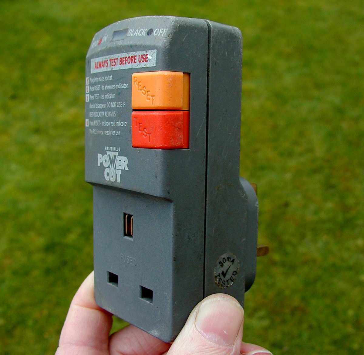 Electrical Safety in the Home and Garden - Using an RCD and Other Tips to Prevent Shock