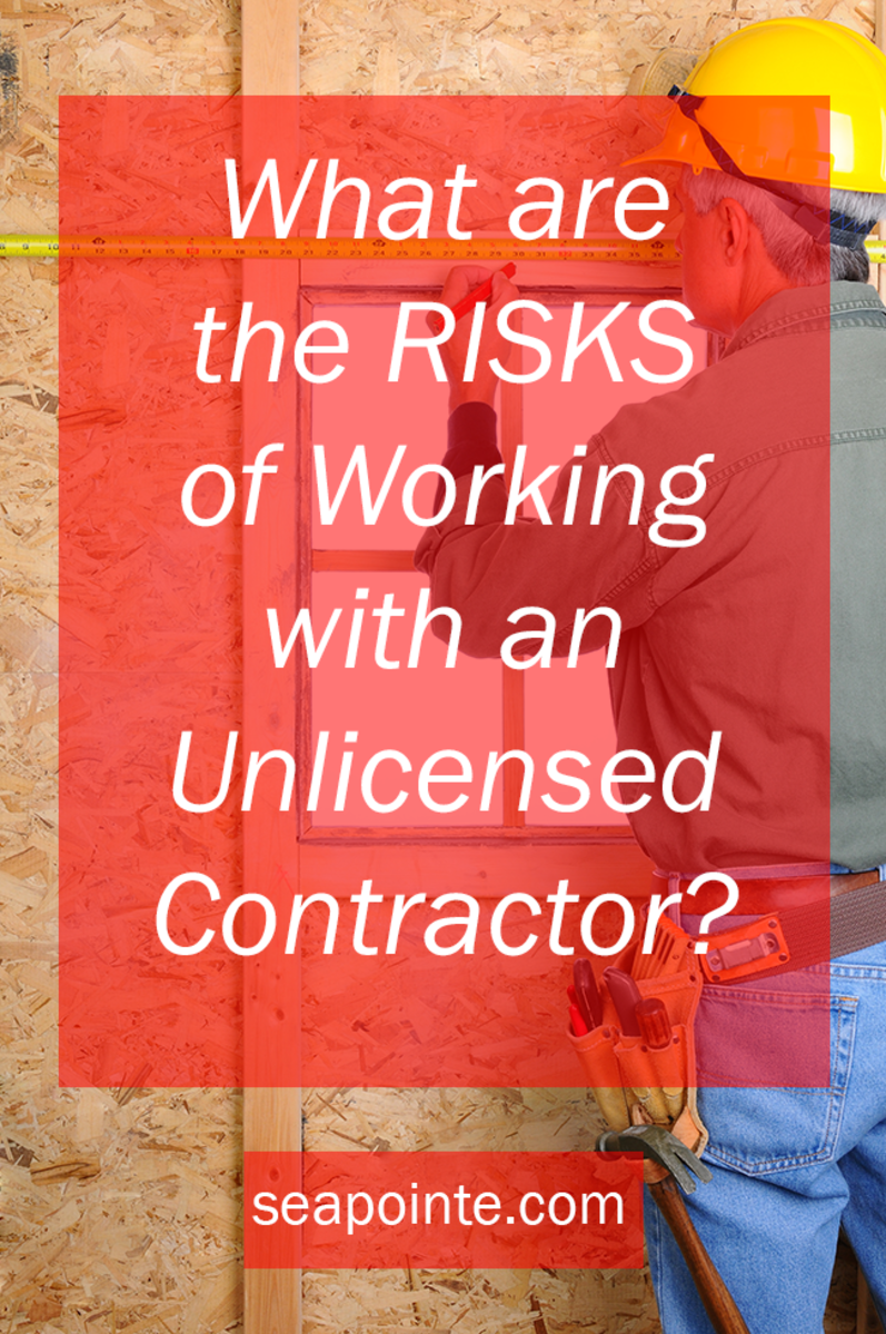 What Are the Risks of Working with an Unlicensed Contractor?