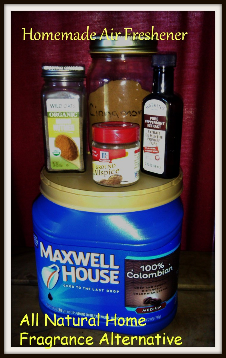 Homemade Aromatic Air Freshener: All Natural Home Fragrance Alternative