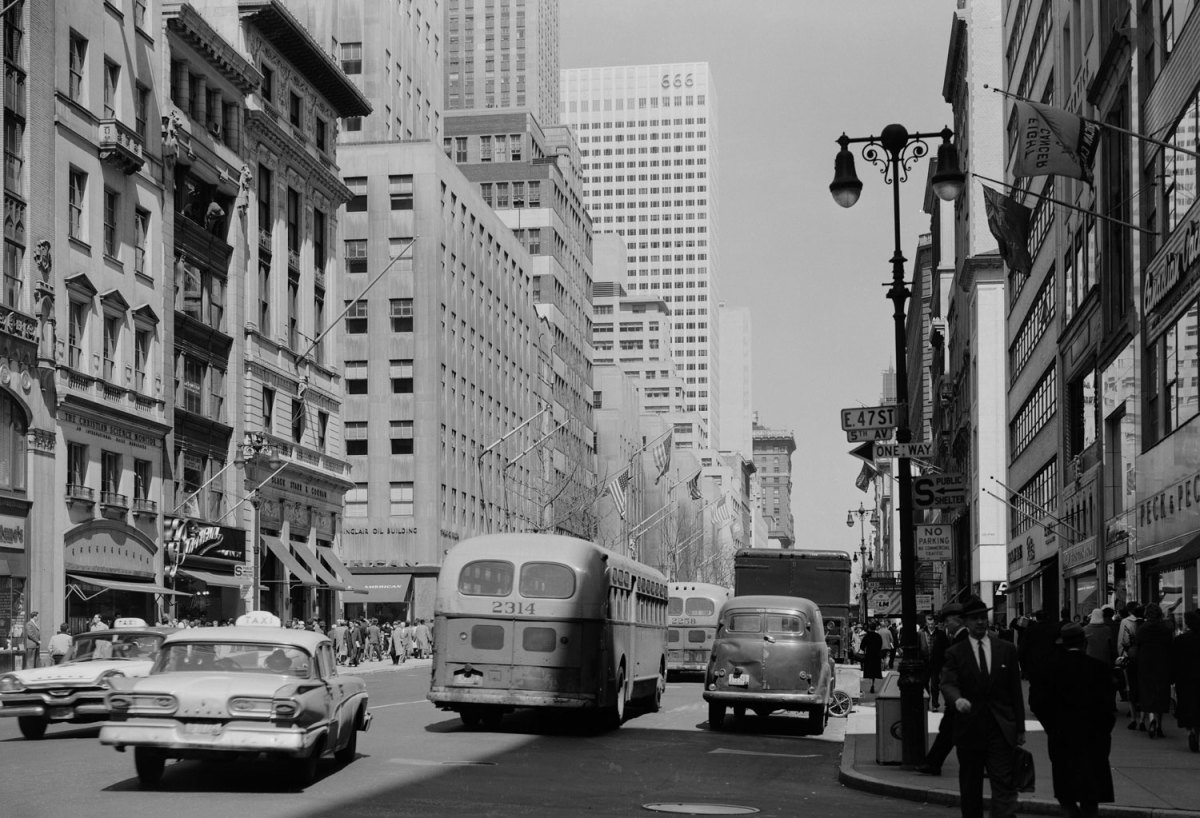 New York City in the '40s