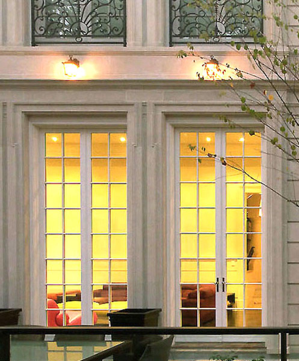 12' Tall True French Doors