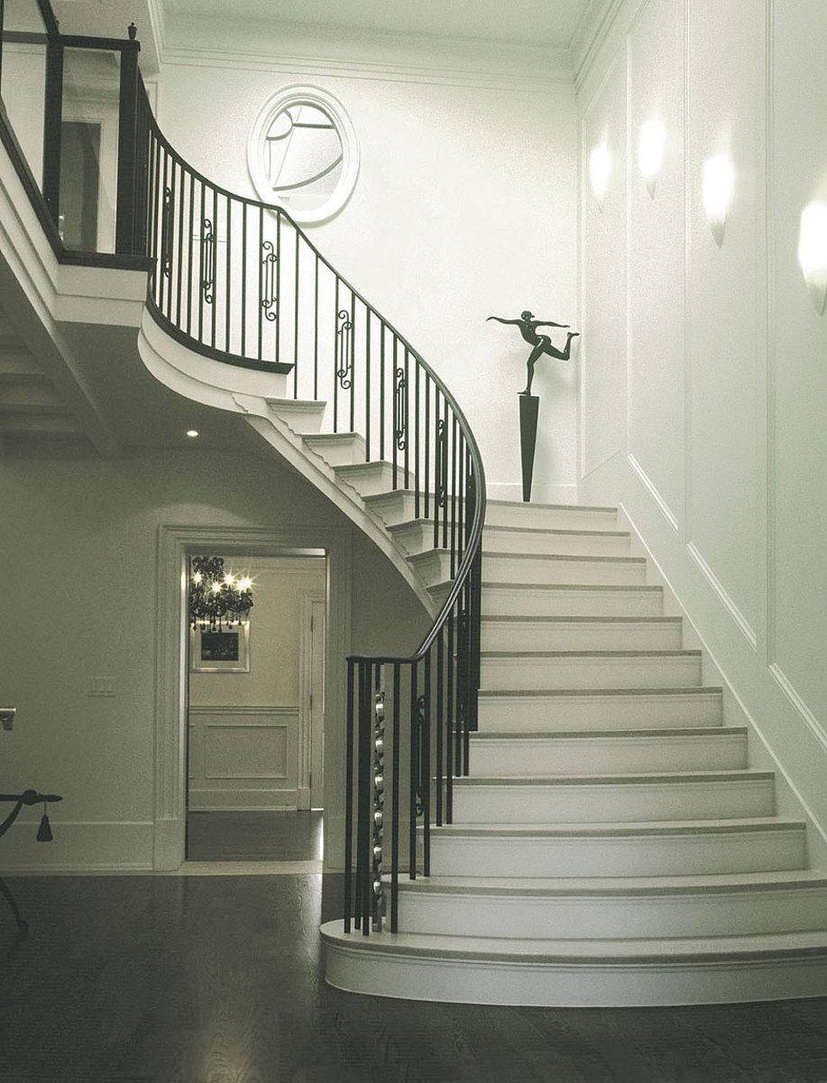 Oval Shaped Staircase