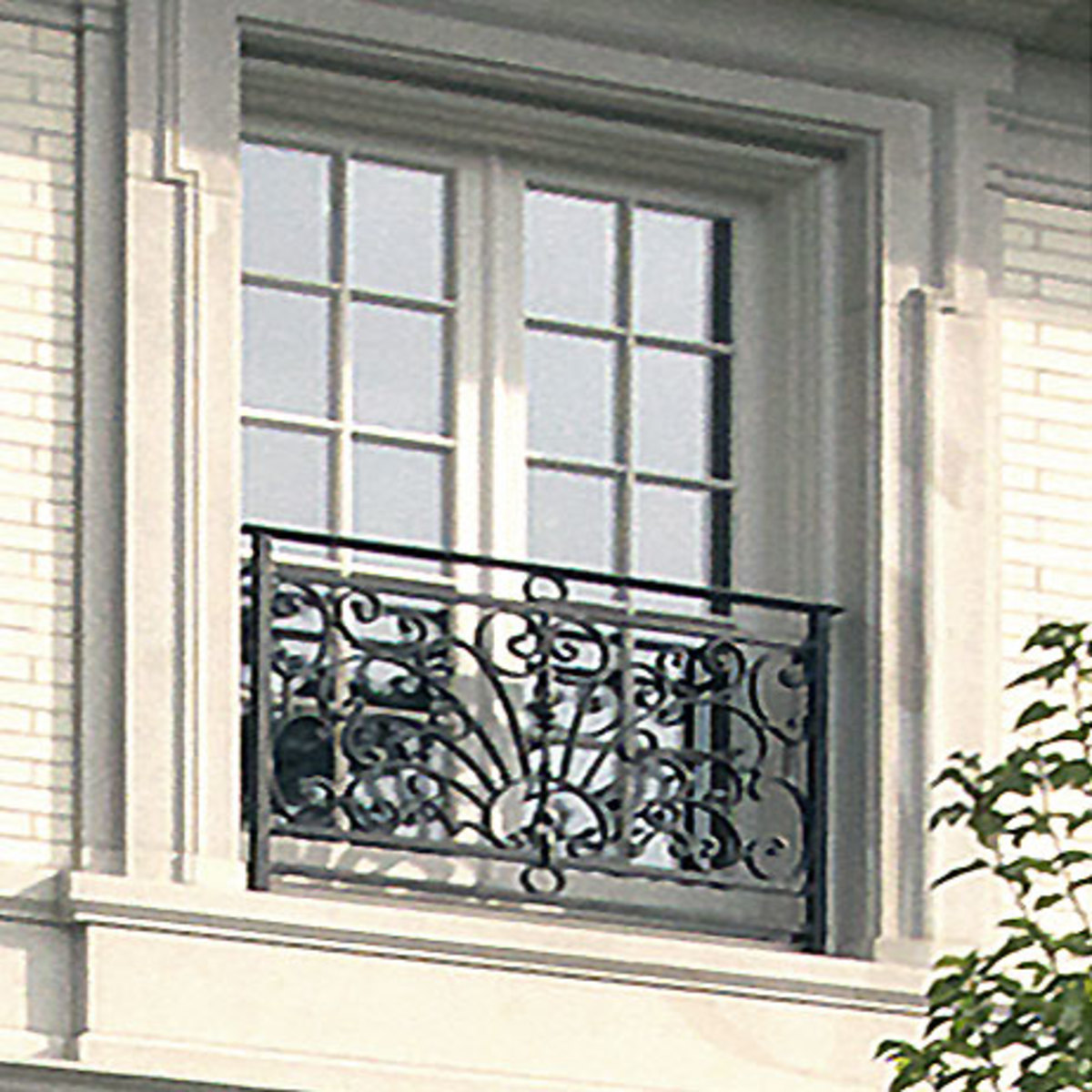 Baroque Style Window Guard