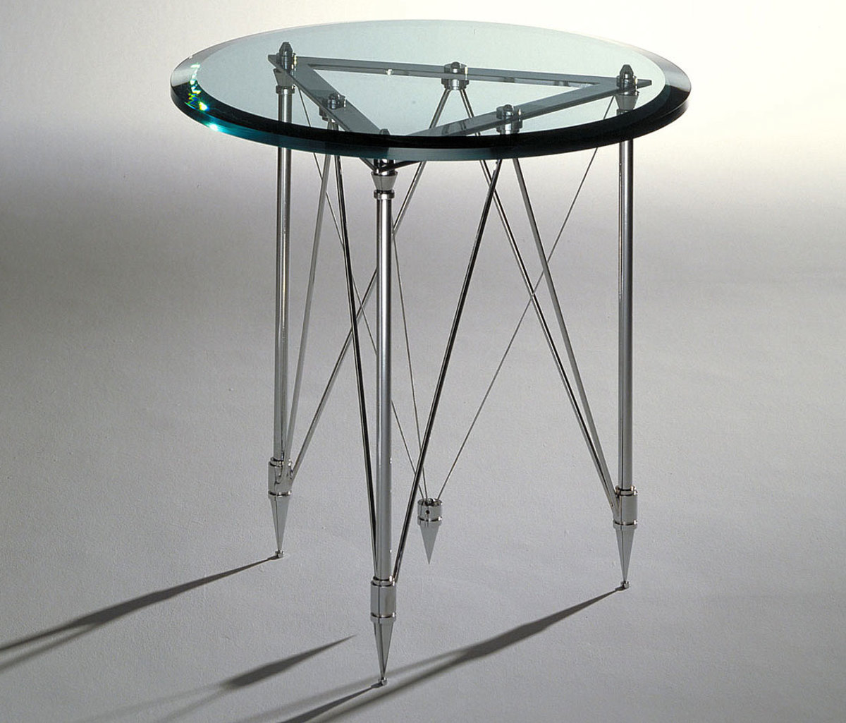 Machined Parts Making Up this Table Base