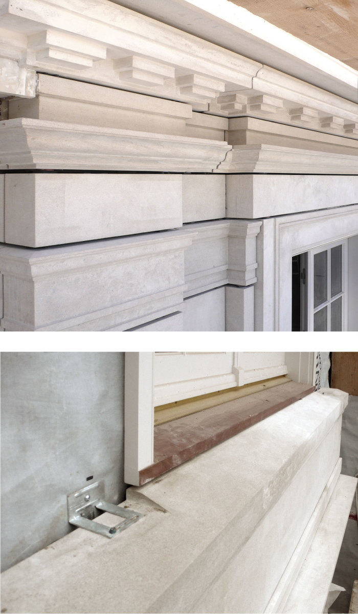 Stone Work with Air Space Behind