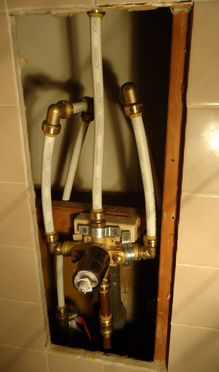 How To Replace A Single Handle Shower Valve Dengarden