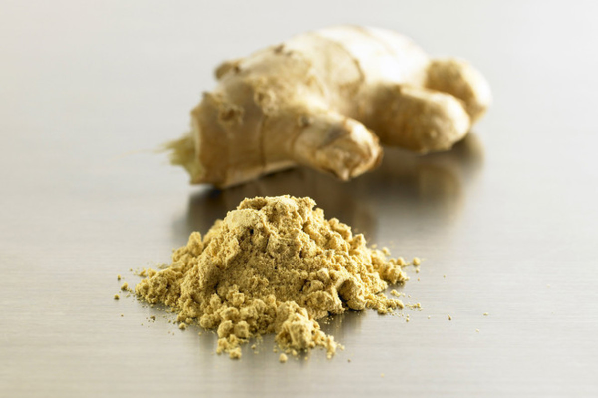 Powdered ginger, great for tea, cooking and so much more
