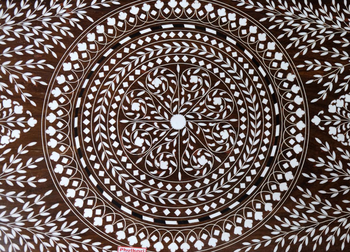 Marquetry flooring pattern