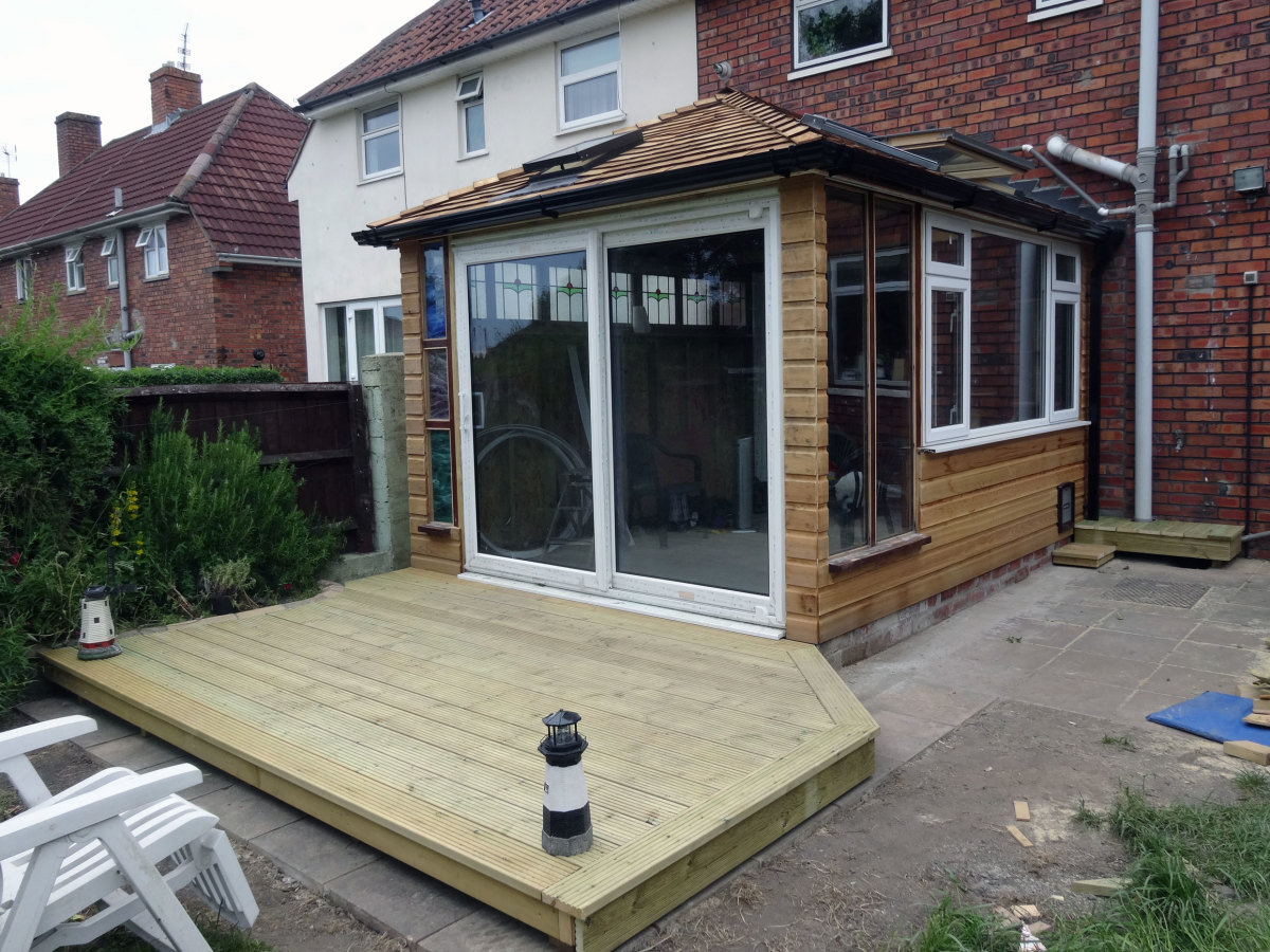 Decking as a blank canvas