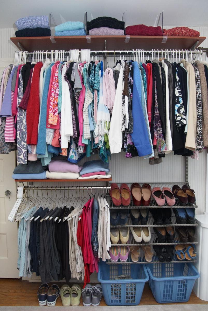How we dream of a closet so nice