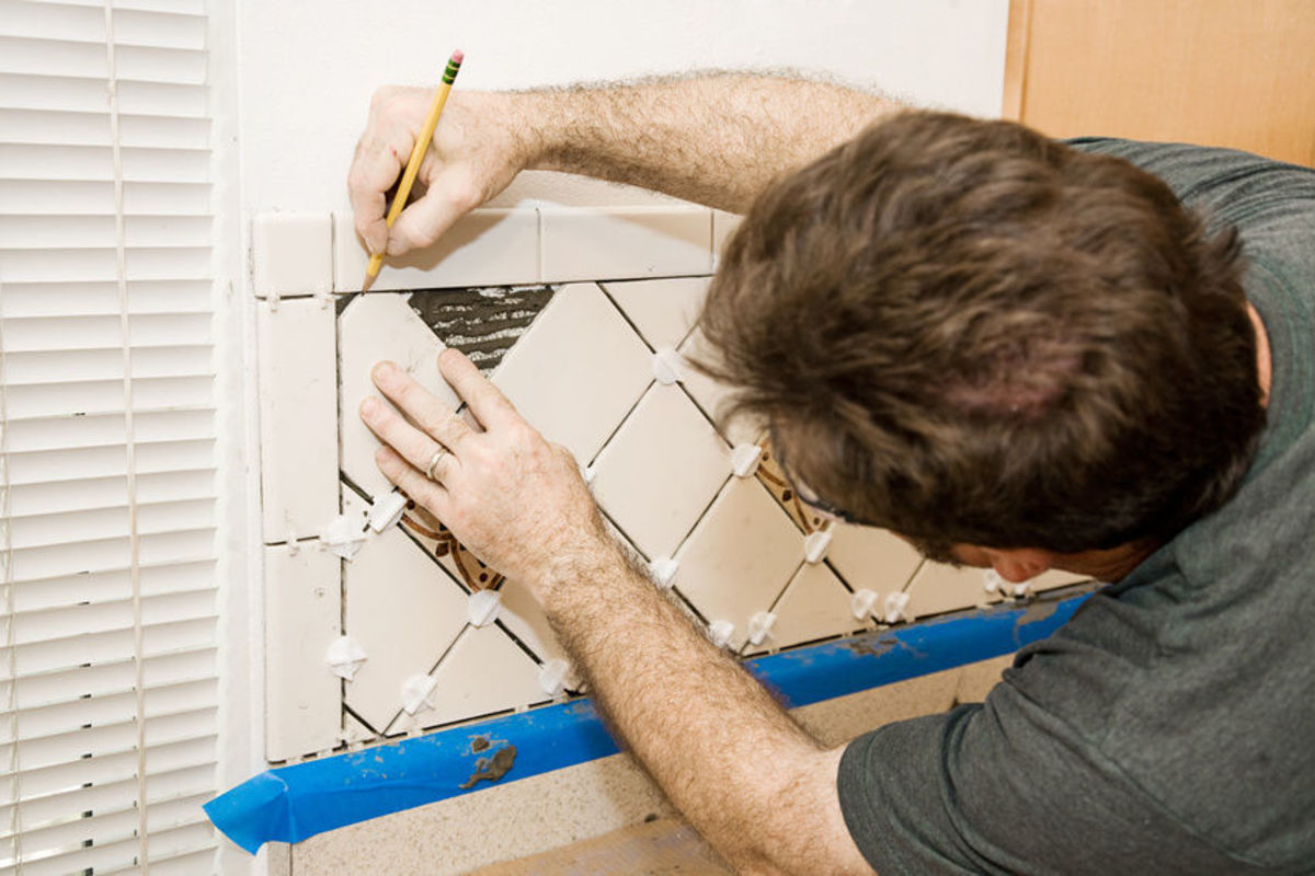 Using tile spacers as part of the project can make a lot of difference.