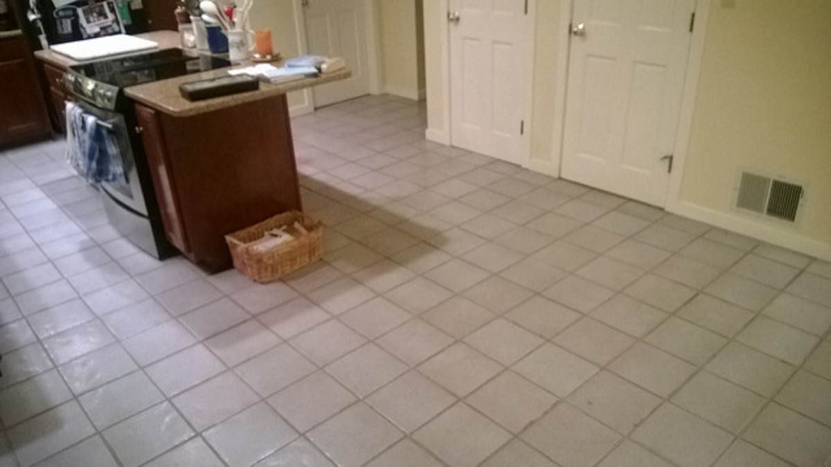 While rugs can work in kitchens, full carpeting makes floors impossible to clean.