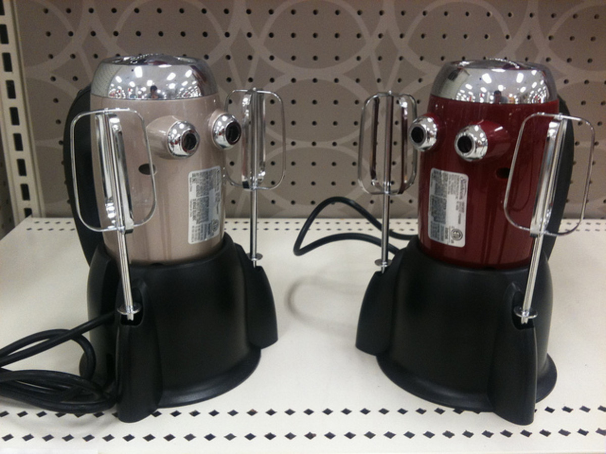 New kitchen appliances are designed to be easier to clean.