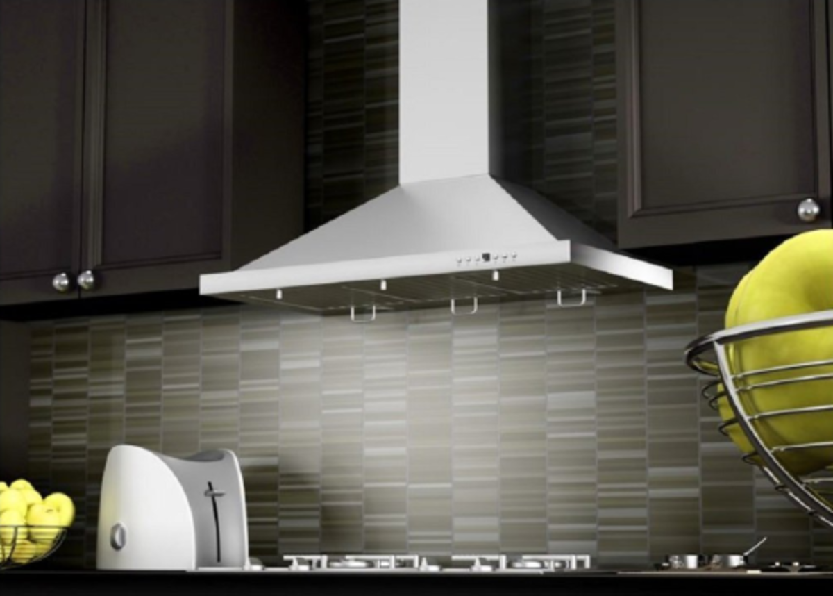 The Z-Line ZLKB36 in a modern kitchen.
