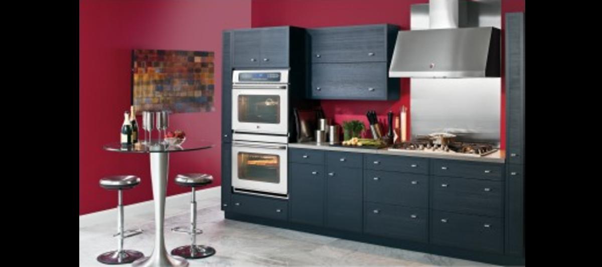 Wall mounted range hoods add class to any kitchen.