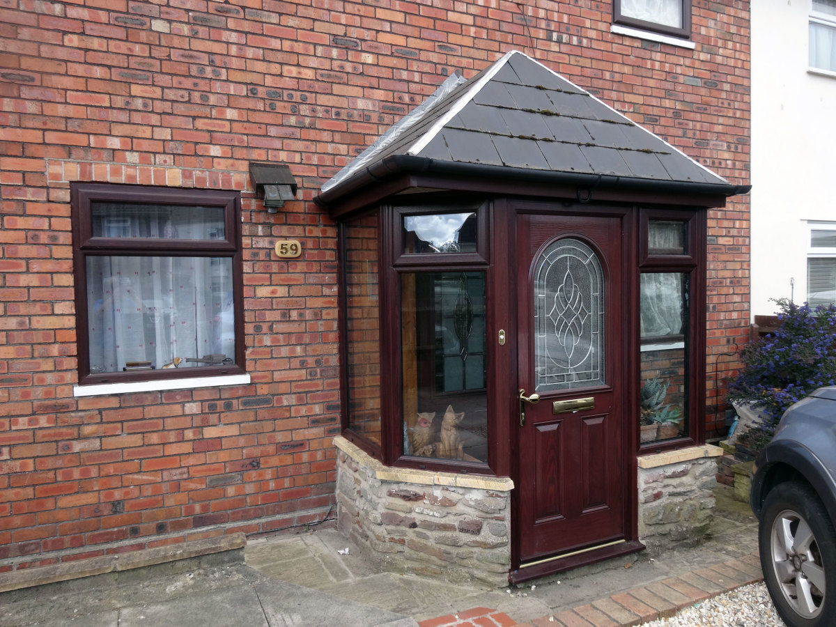 Modernising and Doubling Glazing an Old Porch