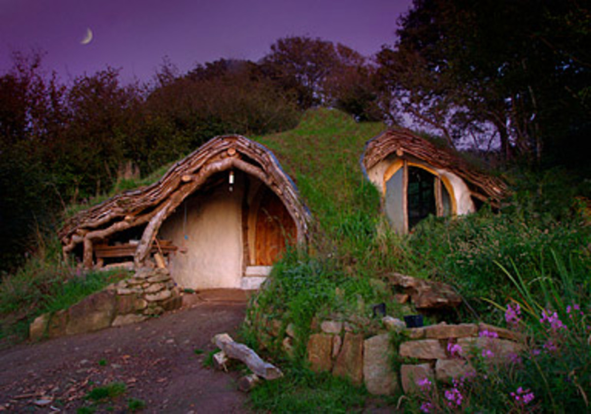 A home fit for a hobbit!