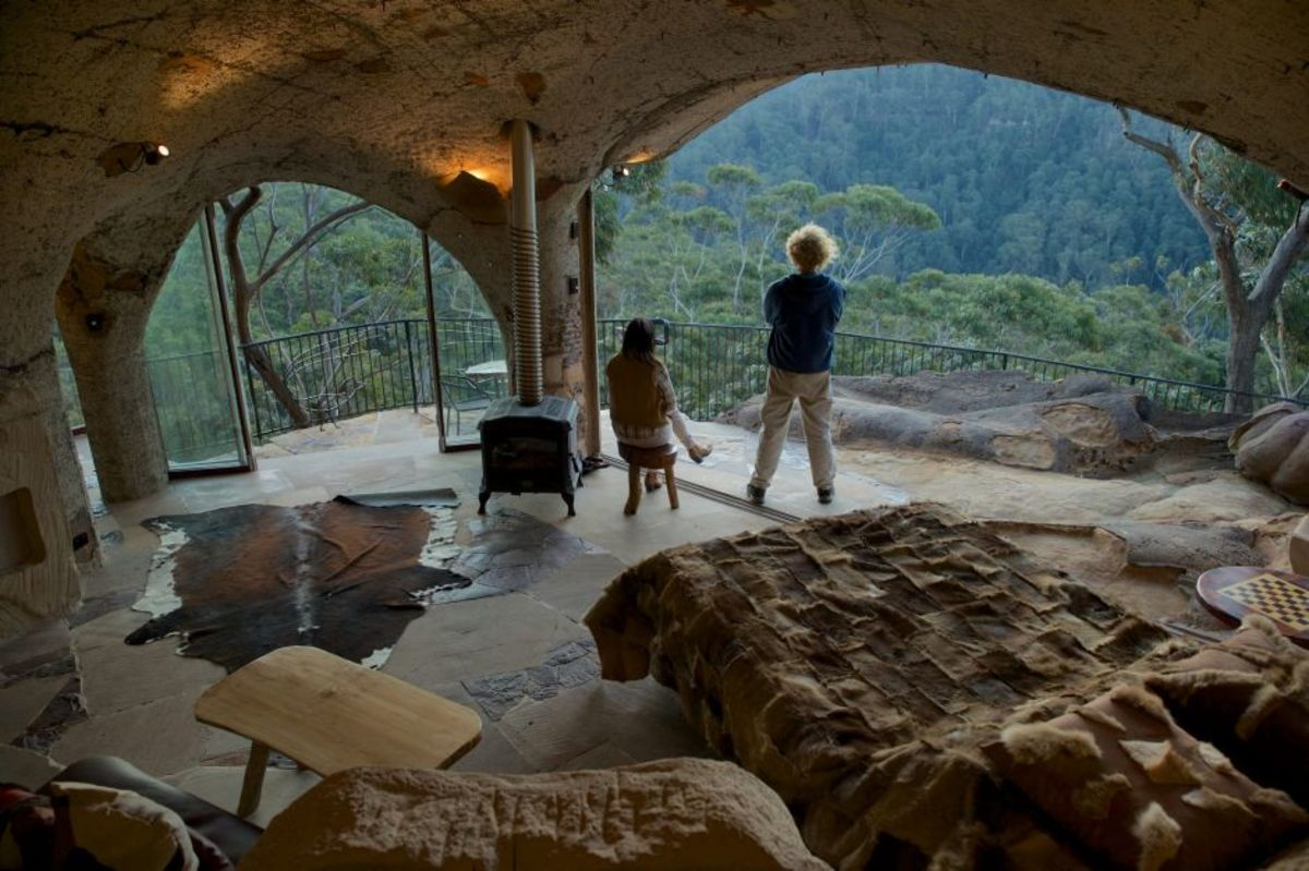 Cave homes are anything but primitive today. They are full of modern amenities.