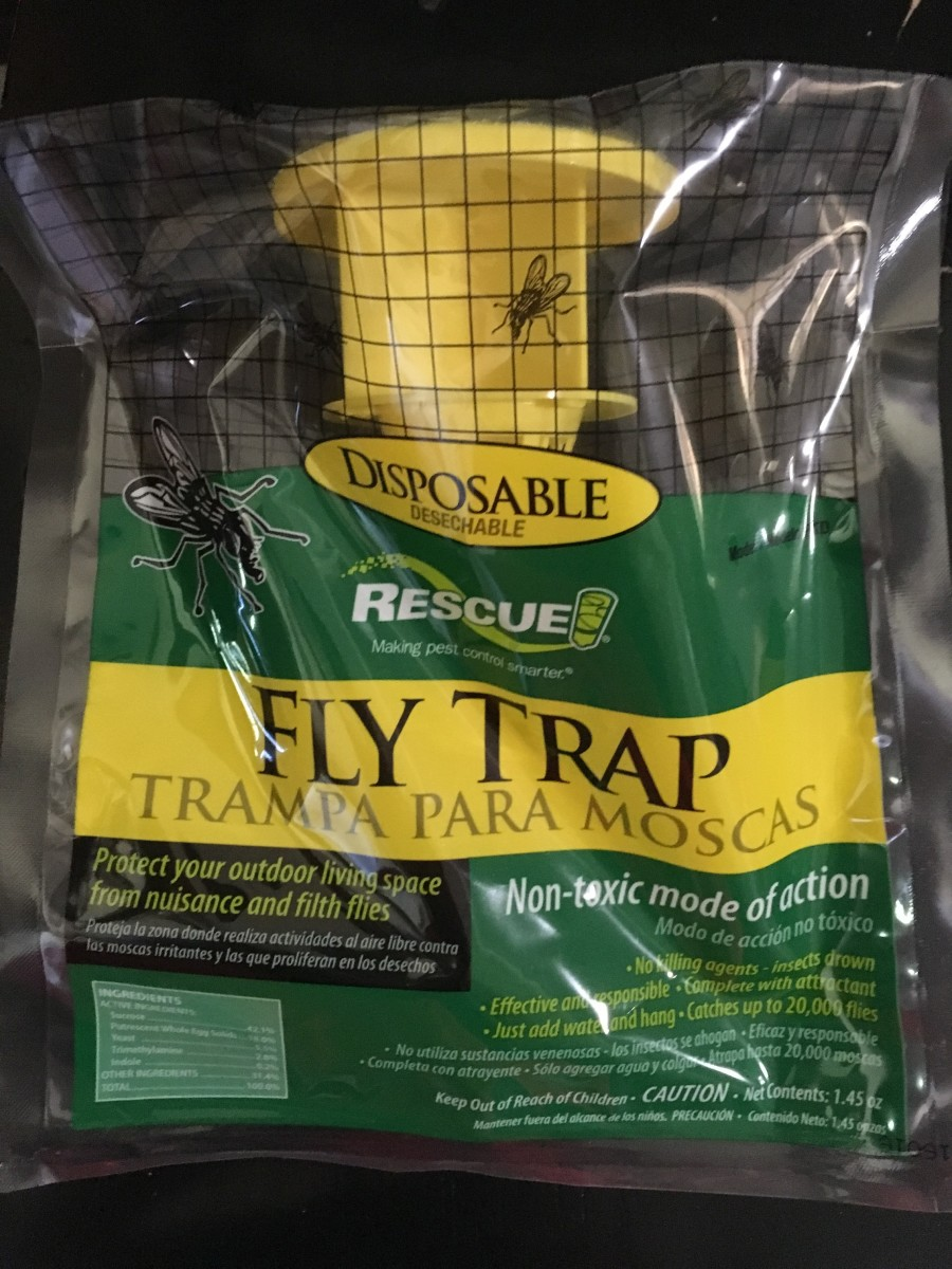 Rescue is a perfect name for this fly trap. It definitely saved us from our fly nuisance.