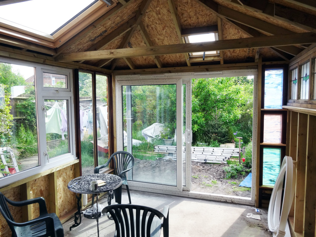 how to build a timber frame conservatory dengarden