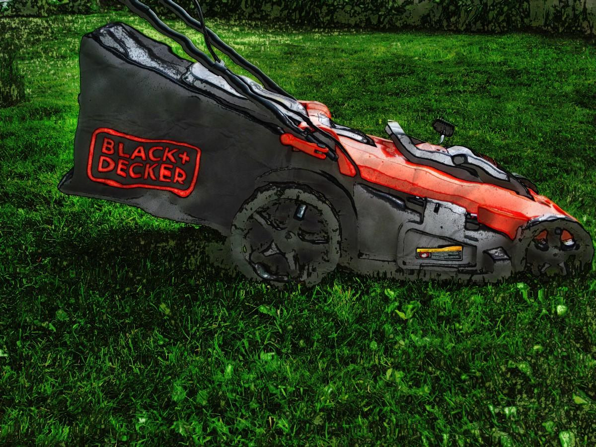 Black & Decker CM2043C Cordless lawn mower