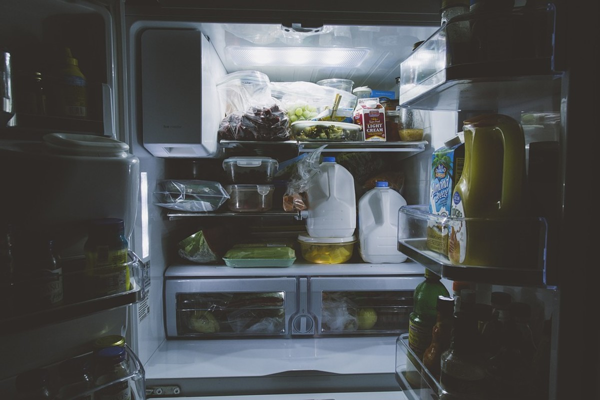 If you stuff  the fridge when you have a big one, what do you think will happen when you have a smaller one?