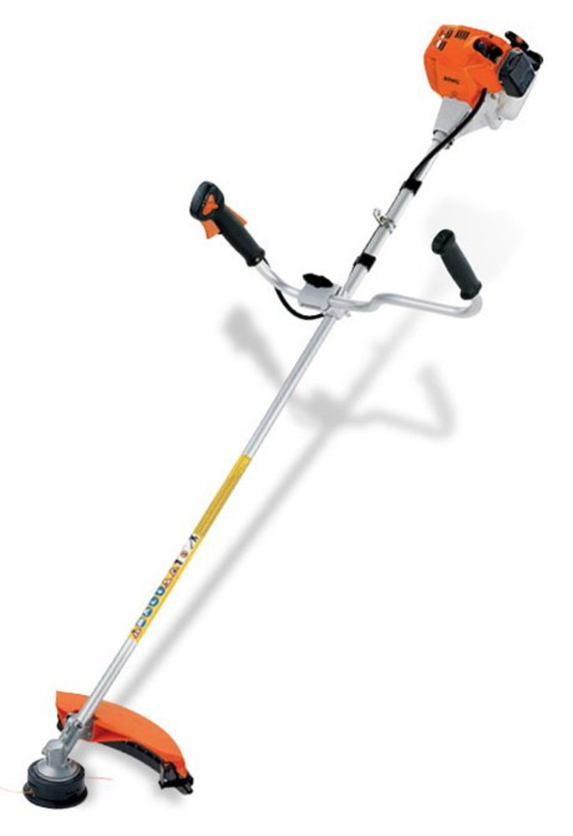 Comparison of Echo and Stihl String Trimmers
