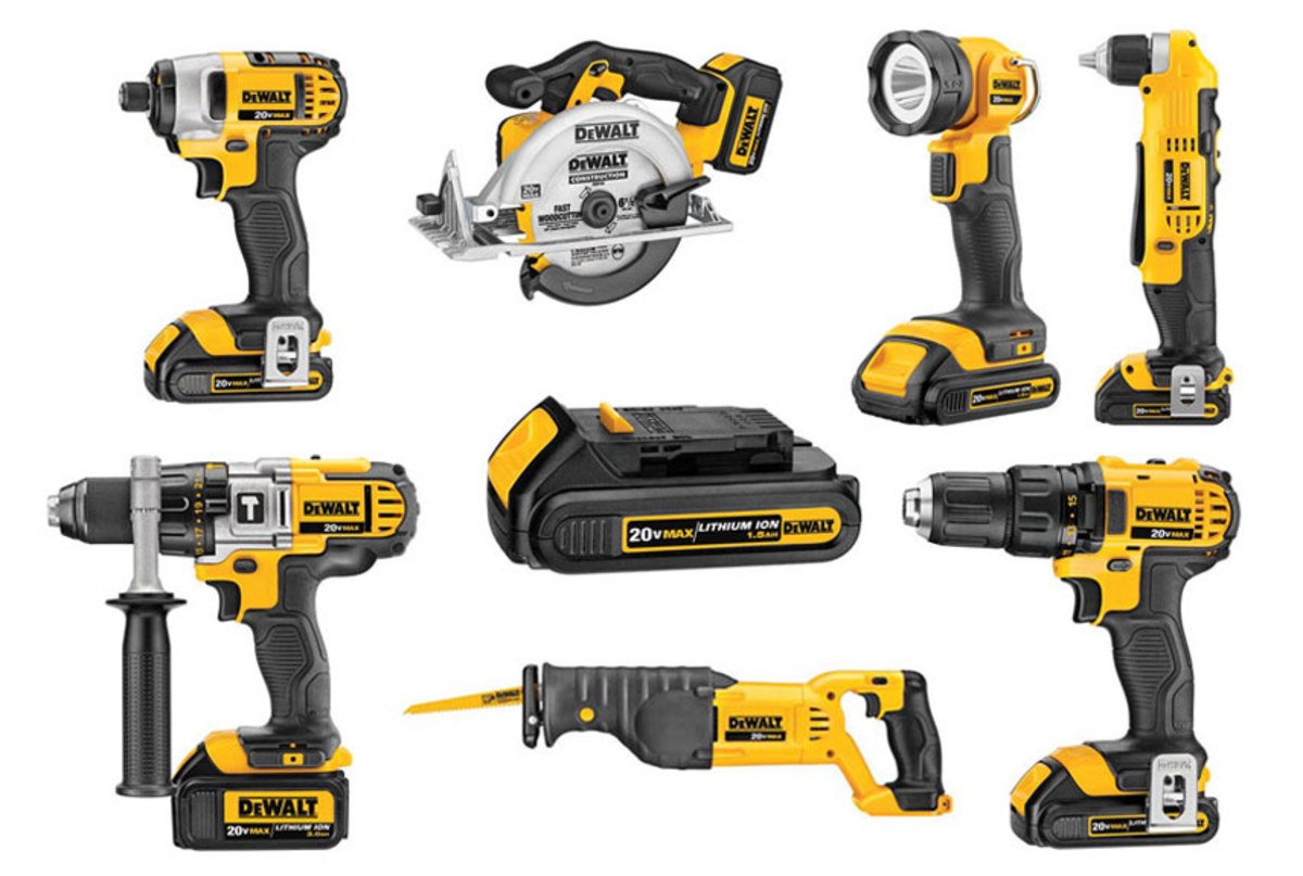 Battery Operated A Ranking Of 4 Cordless Impact Drill Systems