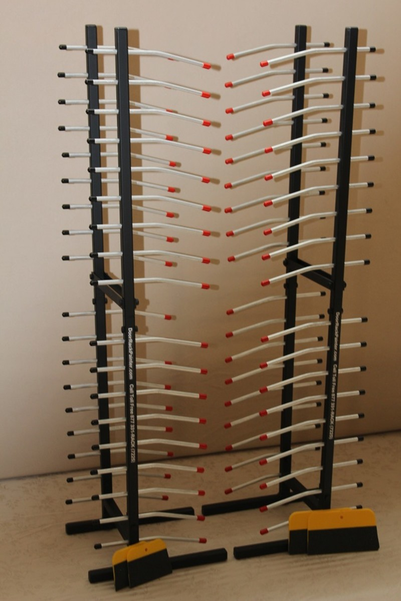Door Rack Painter Review