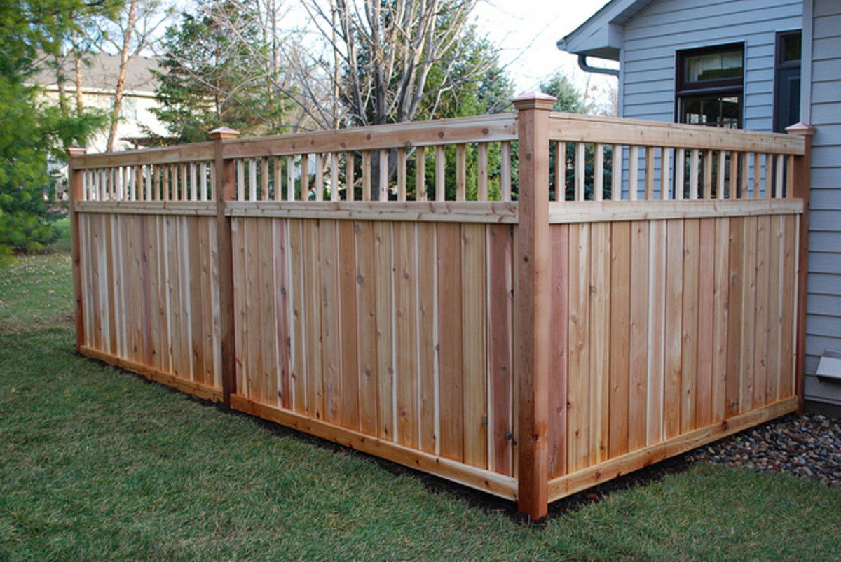 There Are Many Types Of Fences To Chose From To Install On Your Property.