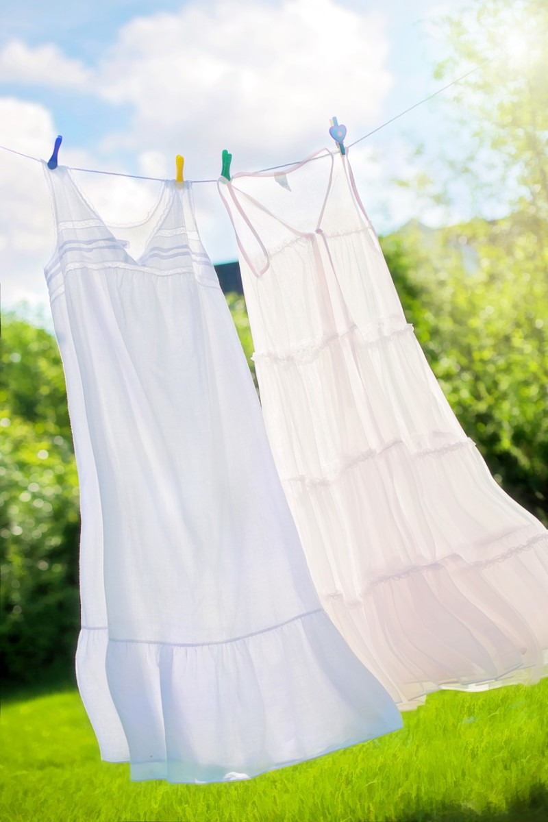 Why Line-Dry Your Clothes?