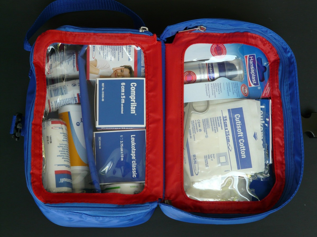 Is your emergency kit in tip-top shape? Get it organized so that it's there when you need it.