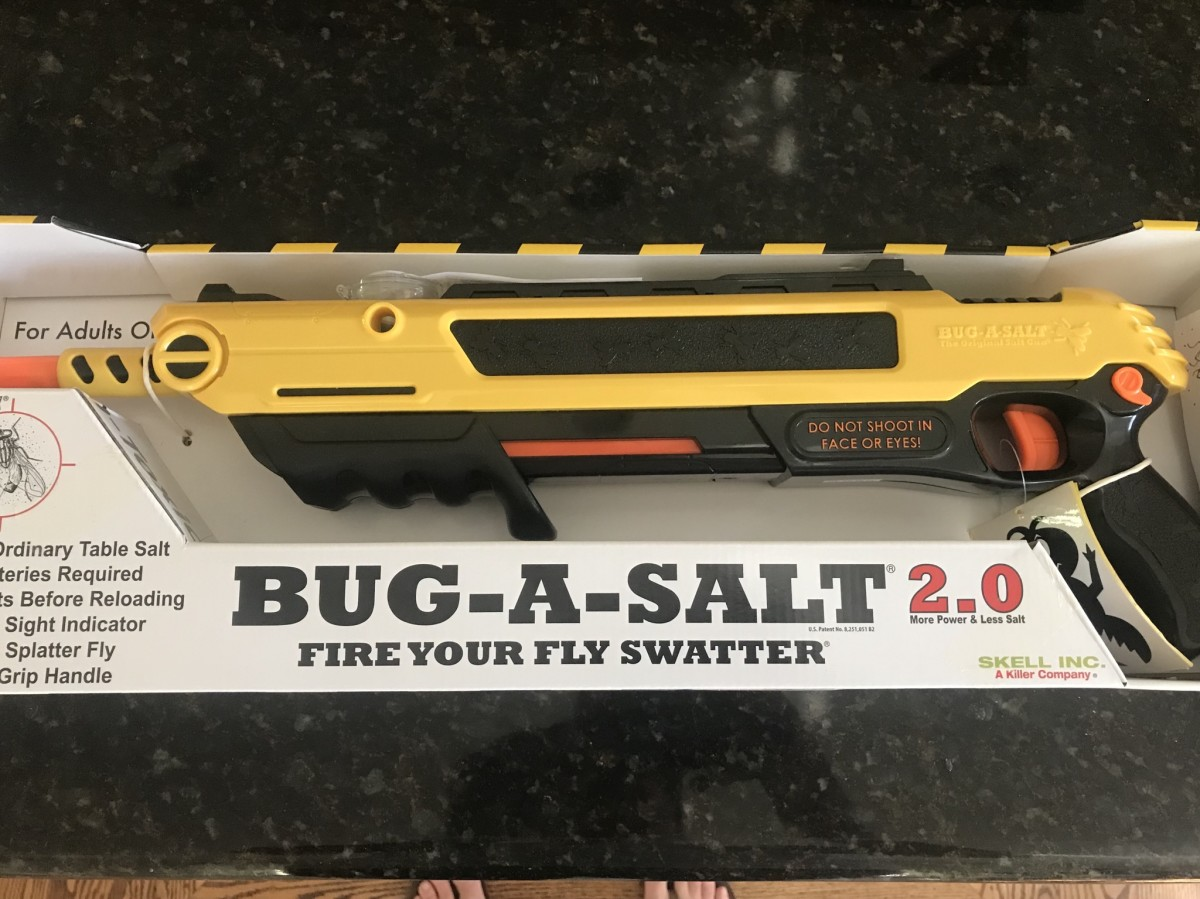 A Review of the Bug-A-Salt 2.0 Fly and Spider Killer