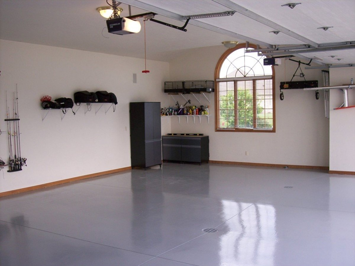 Tips For Applying Garage Wall Paint Dengarden