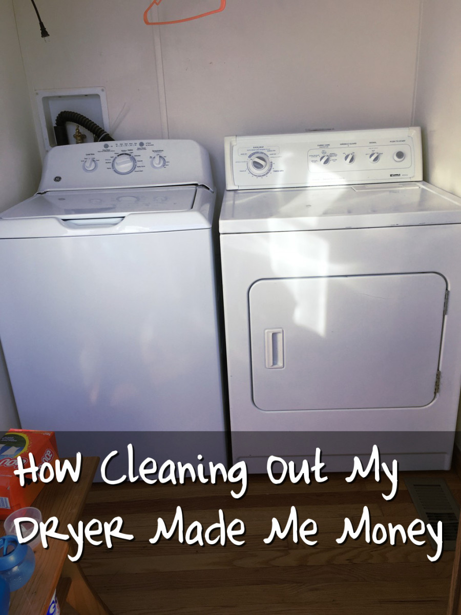 How to Make Money Cleaning Out Dryer Lint