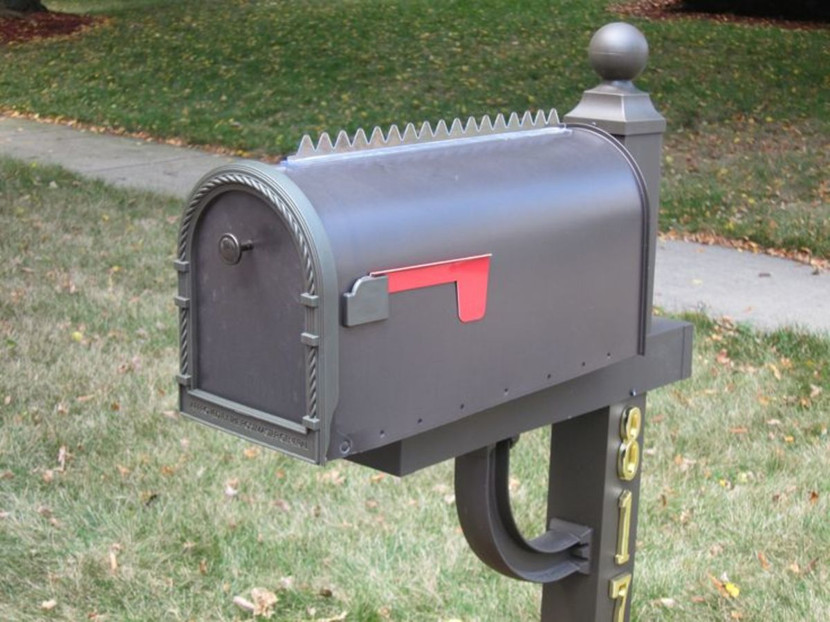 Keep Birds Off Mailbox