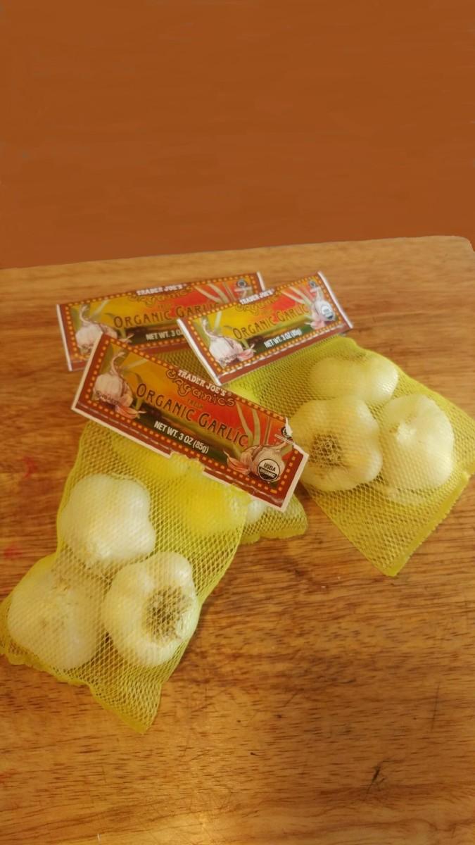 Planting Garlic at Home