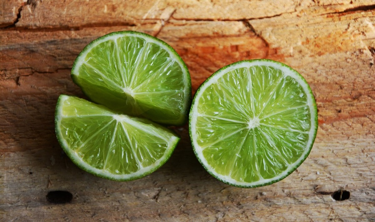 Key Lime Rind is thinner than regular limes
