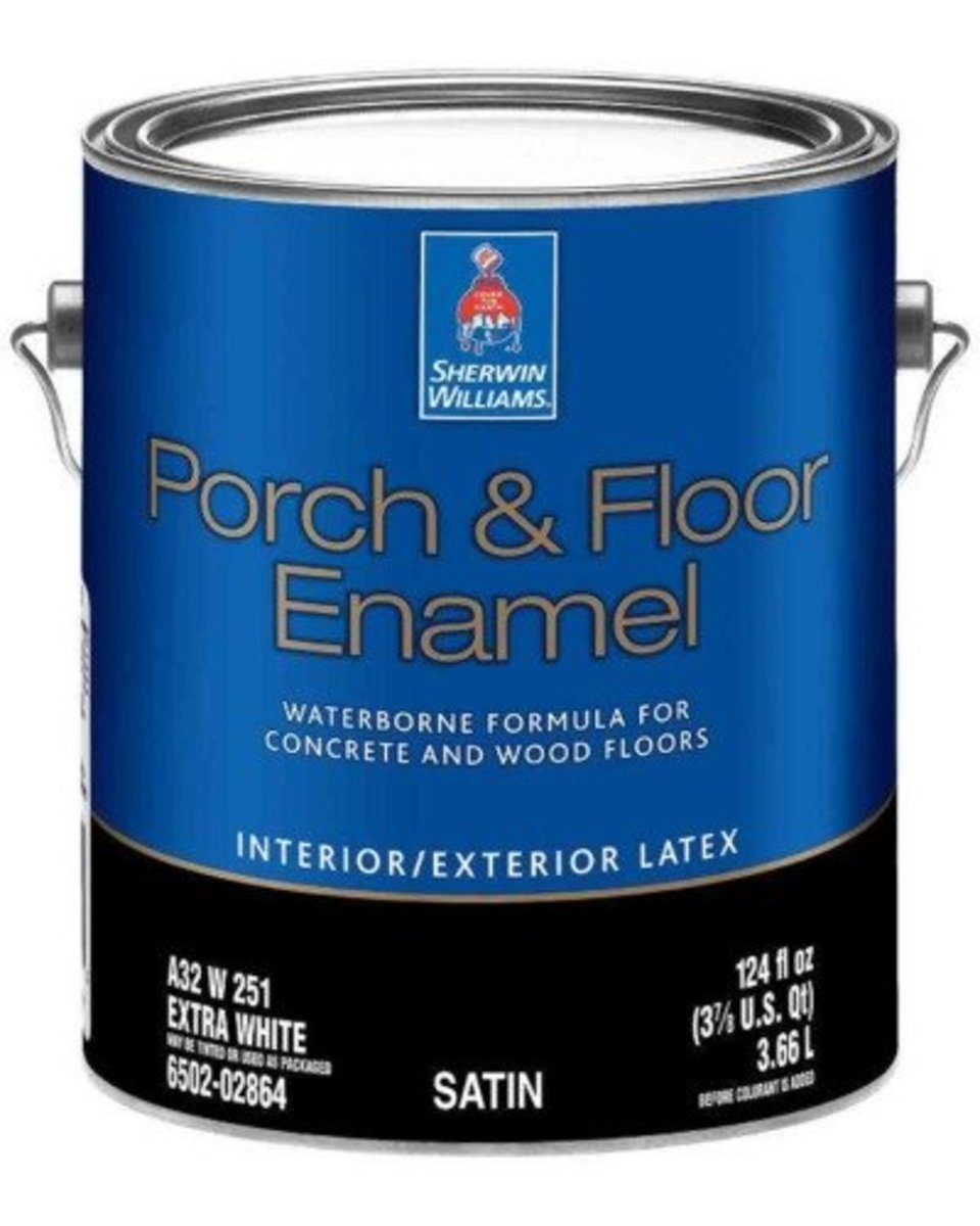 My Review of the Sherwin Williams Porch and Floor Enamel